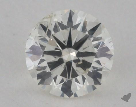 0.44 Carat J-SI2 Very Good Cut Round Diamond