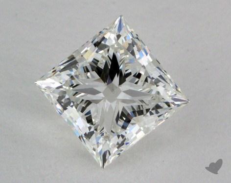2.03 Carat H-VS2 Ideal Cut Princess Diamond