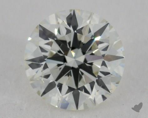 0.90 Carat J-SI2 Excellent Cut Round Diamond