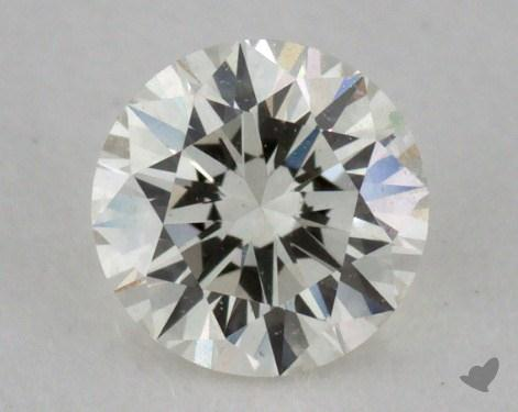 0.31 Carat J-VS1 Very Good Cut Round Diamond