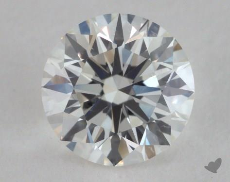 0.96 Carat H-VS2 Excellent Cut Round Diamond