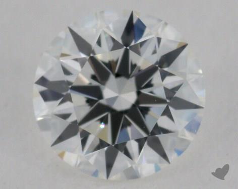 0.56 Carat H-VS2 Excellent Cut Round Diamond