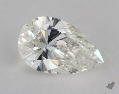 0.80 Carat H-VS2 Pear Shape Diamond