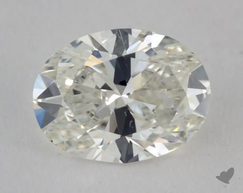 0.96 Carat H-VS2 Oval Cut Diamond