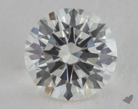 2.60 Carat J-SI1 Excellent Cut Round Diamond
