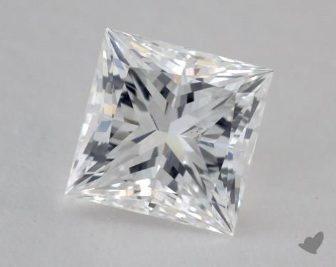 2.01 Carat D-SI2 Ideal Cut Princess Diamond