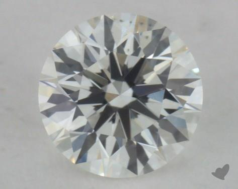 0.31 Carat G-SI1 Ideal Cut Round Diamond