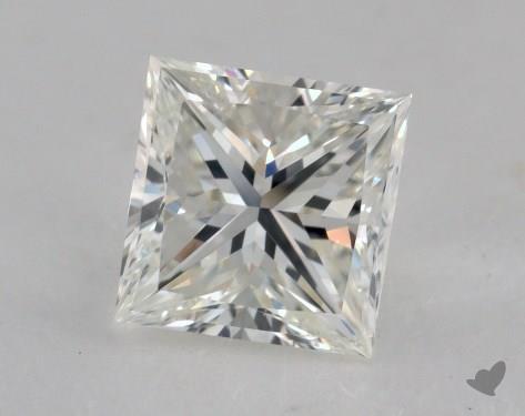 1.45 Carat H-VS2 Ideal Cut Princess Diamond