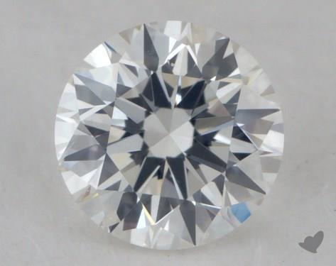 0.35 Carat F-SI2 Excellent Cut Round Diamond