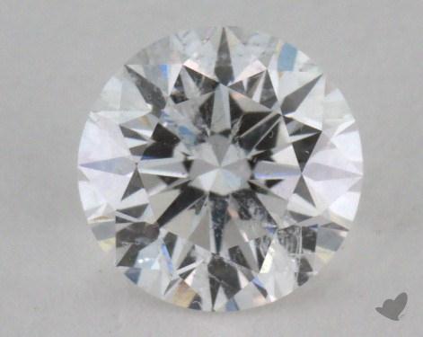 1.03 Carat E-I1 Very Good Cut Round Diamond