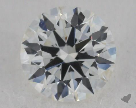 0.51 Carat H-VS2 Ideal Cut Round Diamond