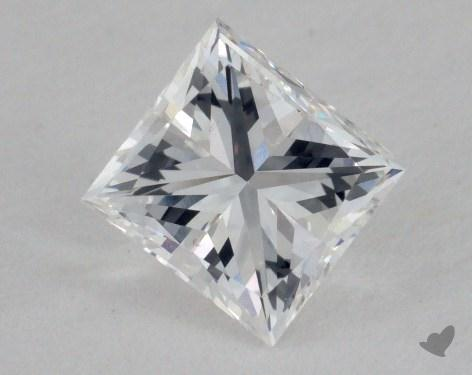 0.75 Carat F-VVS1 Very Good Cut Princess Diamond
