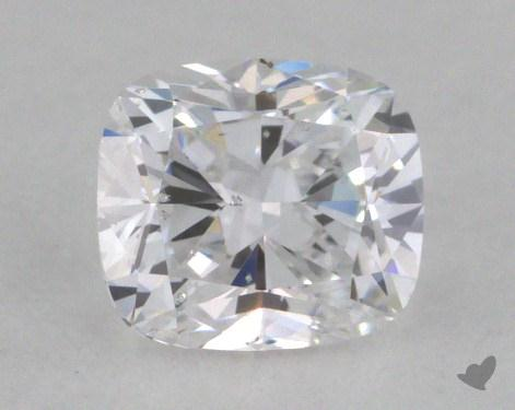 0.50 Carat D-SI2 Cushion Cut  Diamond