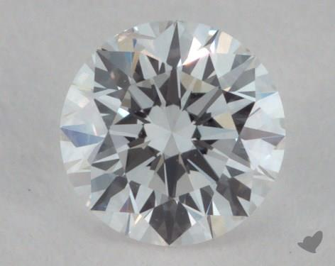 0.34 Carat F-SI2 Excellent Cut Round Diamond