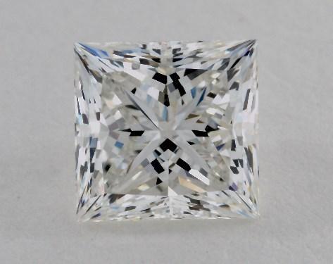 1.41 Carat G-VS2 Ideal Cut Princess Diamond