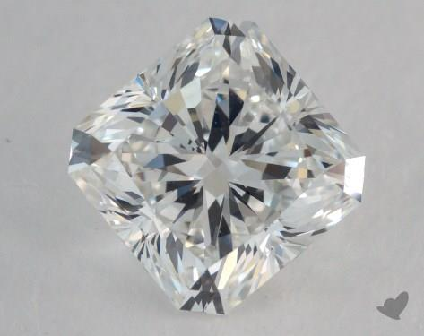 1.52 Carat F-VVS1 Radiant Cut Diamond