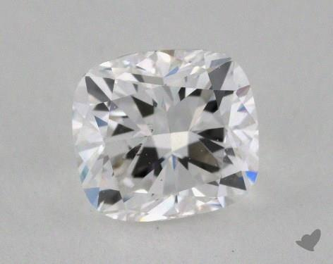 0.70 Carat E-SI1 Cushion Cut Diamond