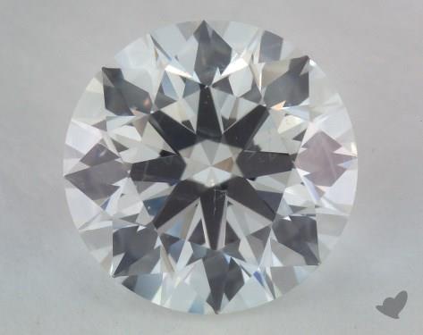 1.73 Carat G-SI1 Ideal Cut Round Diamond
