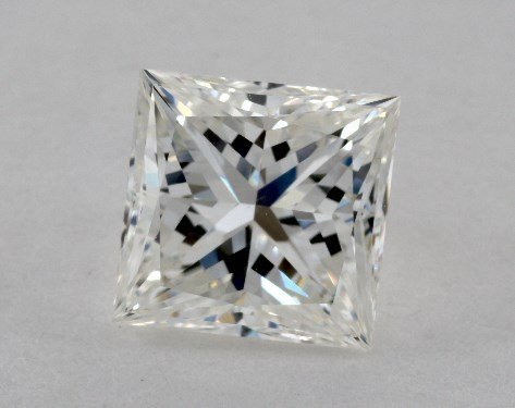 1.50 Carat G-VS1 Very Good Cut Princess Diamond