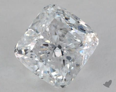 1.90 Carat D-SI2 Cushion Cut Diamond