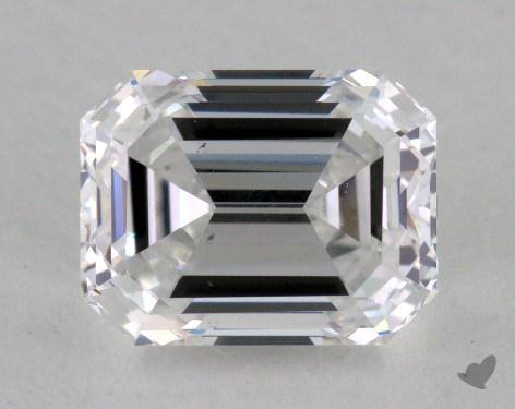 1.32 Carat D-VS2 Emerald Cut Diamond