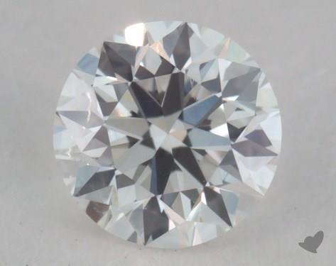 0.30 Carat F-VS1 Very Good Cut Round Diamond