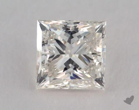 1.56 Carat I-SI2 Ideal Cut Princess Diamond