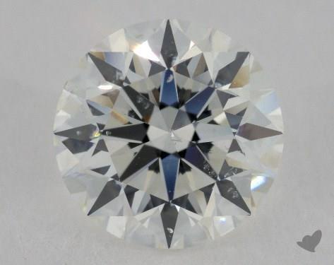3.00 Carat H-SI2 Excellent Cut Round Diamond