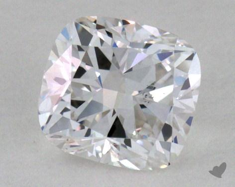 0.60 Carat F-SI1 Cushion Cut Diamond