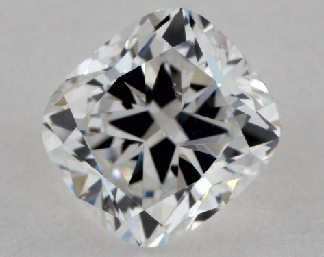 0.61 Carat E-SI1 Cushion Cut  Diamond