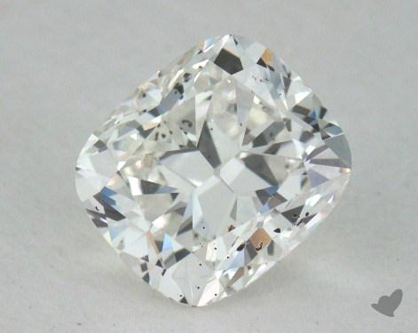 0.81 Carat G-SI2 Cushion Cut  Diamond
