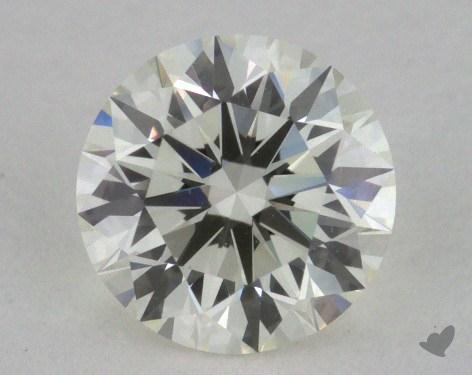 0.77 Carat K-VVS1 Excellent Cut Round Diamond
