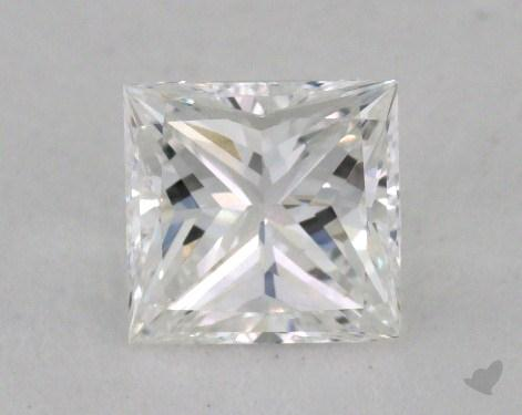 0.91 Carat E-IF Ideal Cut Princess Diamond