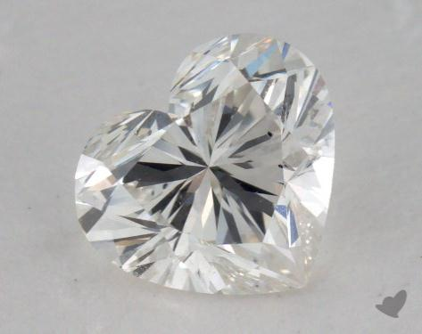 1.01 Carat H-VS2 Heart Cut Diamond