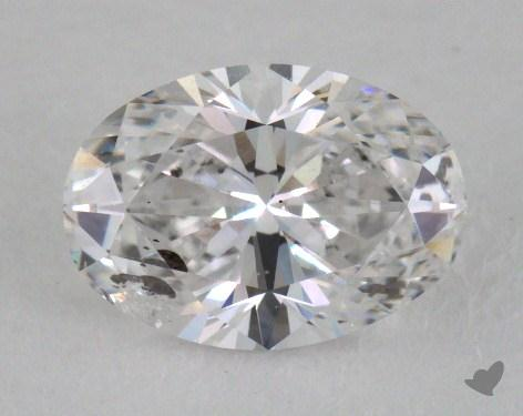 1.03 Carat F-I1 Oval Cut Diamond