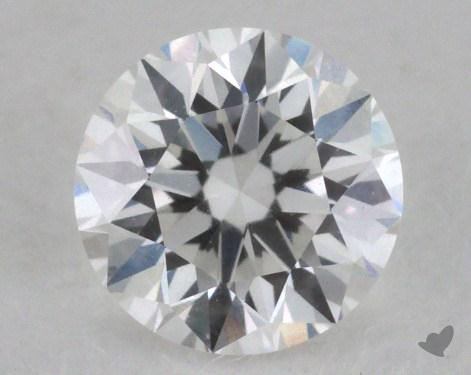 0.54 Carat F-VVS1 Very Good Cut Round Diamond 