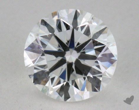 0.91 Carat F-VVS1 Very Good Cut Round Diamond