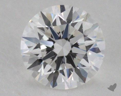 0.53 Carat F-IF Excellent Cut Round Diamond