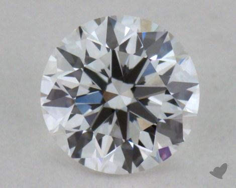 0.32 Carat E-VVS1 Very Good Cut Round Diamond