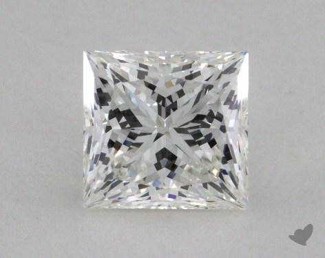 2.08 Carat G-VS1 Ideal Cut Princess Diamond