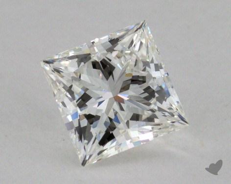 2.03 Carat G-VVS2 Ideal Cut Princess Diamond