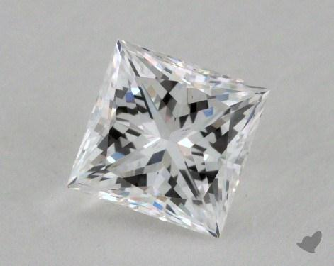 1.04 Carat E-VS1 Very Good Cut Princess Diamond