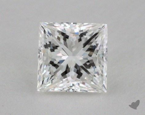 2.00 Carat F-VVS2 Very Good Cut Princess Diamond