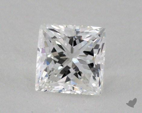 1.00 Carat E-VS2 Princess Cut  Diamond