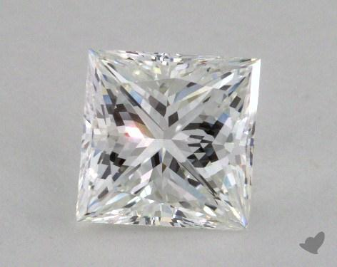 2.13 Carat G-VVS2 Ideal Cut Princess Diamond