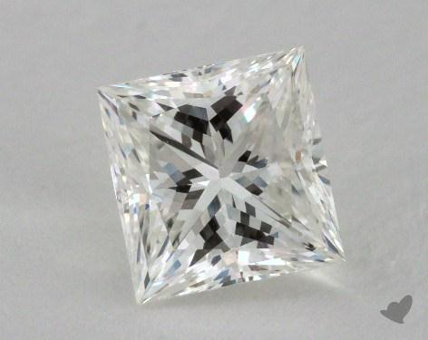 2.01 Carat H-VS1 Ideal Cut Princess Diamond