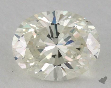 1.00 Carat K-VS2 Oval Cut Diamond