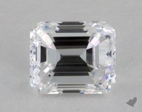 0.80 Carat D-VVS2 Emerald Cut Diamond