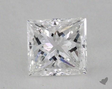 1.02 Carat E-VS2 Very Good Cut Princess Diamond