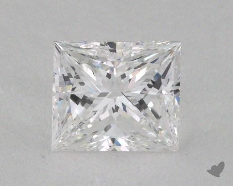 1.01 Carat D-VS2 Very Good Cut Princess Diamond